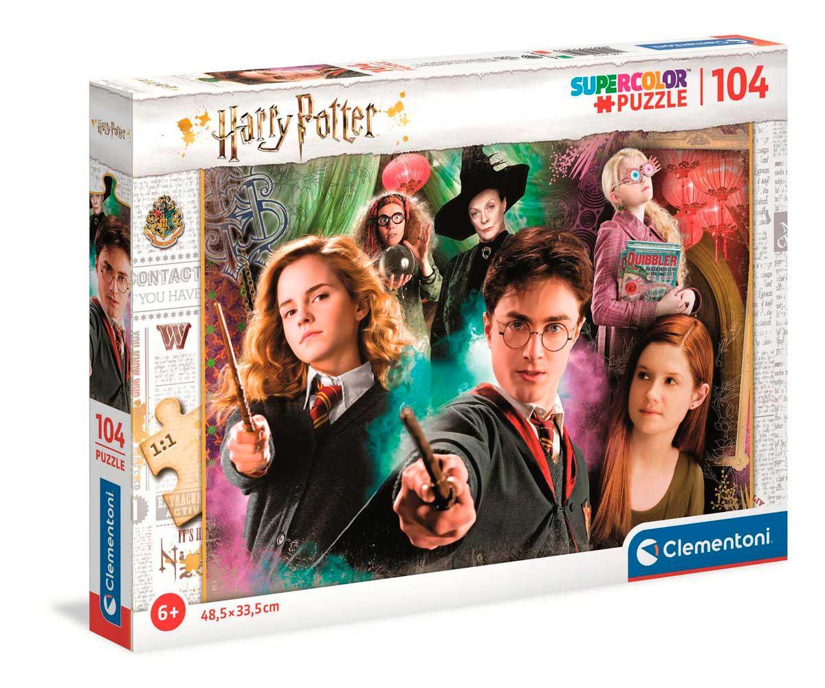 Puzzle Clementoni Harry Potter de 104 Piezas