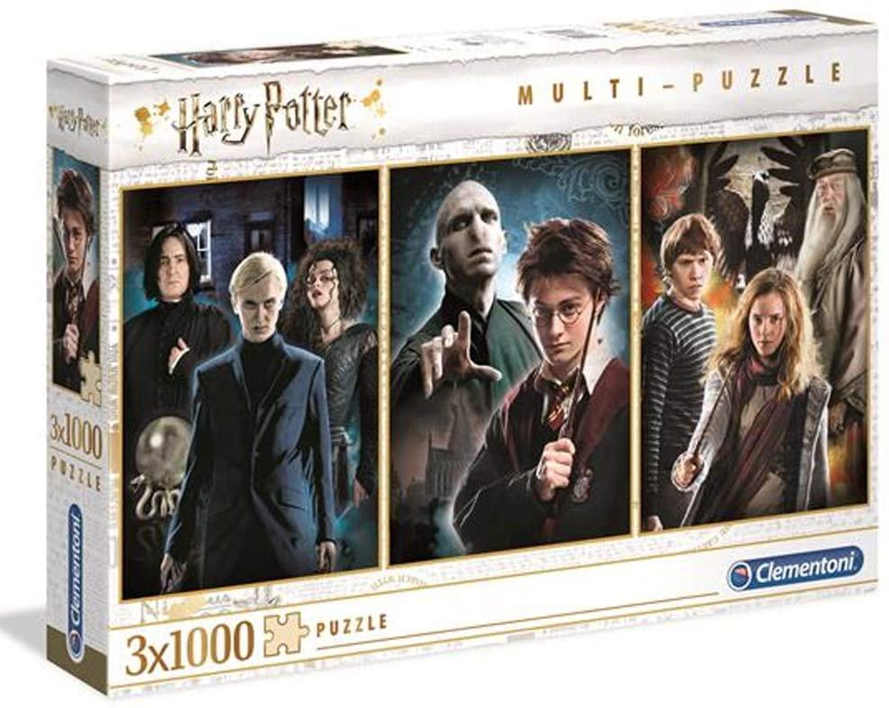 Puzzle Clementoni Harry Potter de 3 x 1000 Piezas