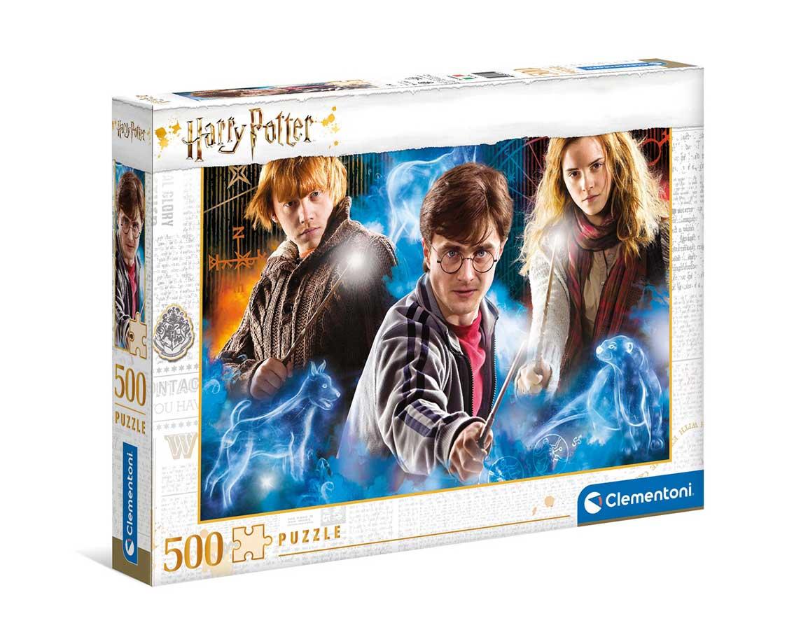 Puzzle Clementoni Harry Potter de 500 Piezas