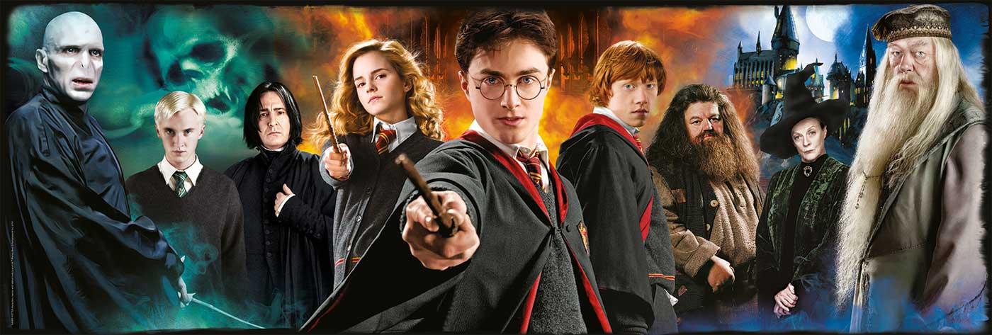 Puzzle Clementoni Harry Potter Panorama de 1000 Piezas