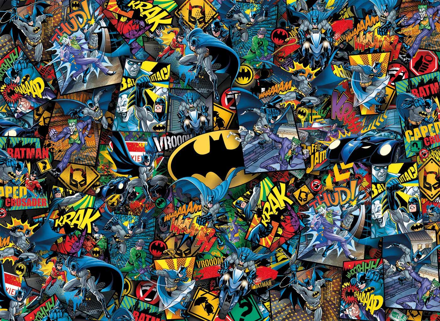 Puzzle Clementoni Imposible BATMAN de 1000 Piezas