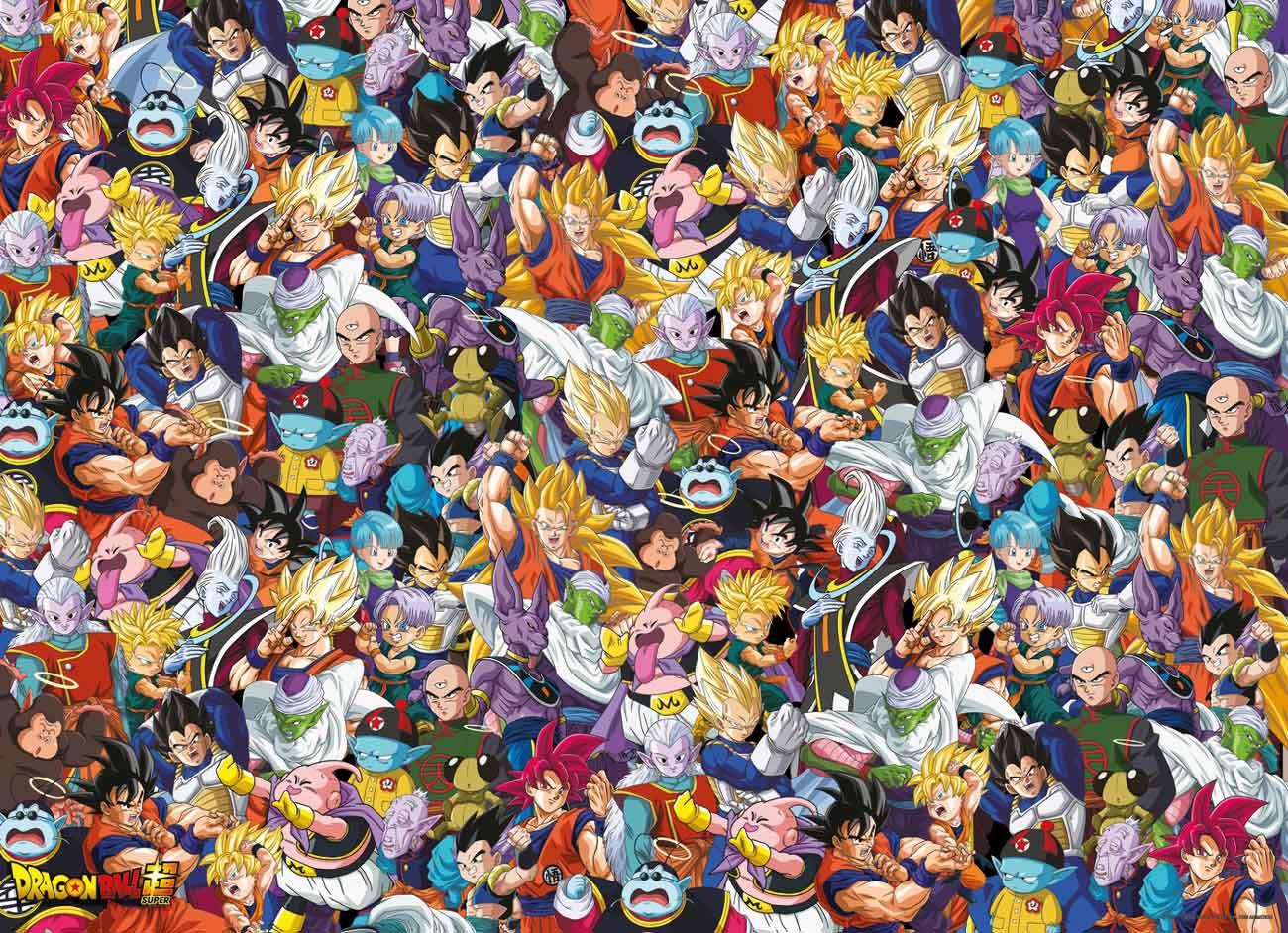 Puzzle Clementoni Imposible Dragon Ball de 1000 Pzs