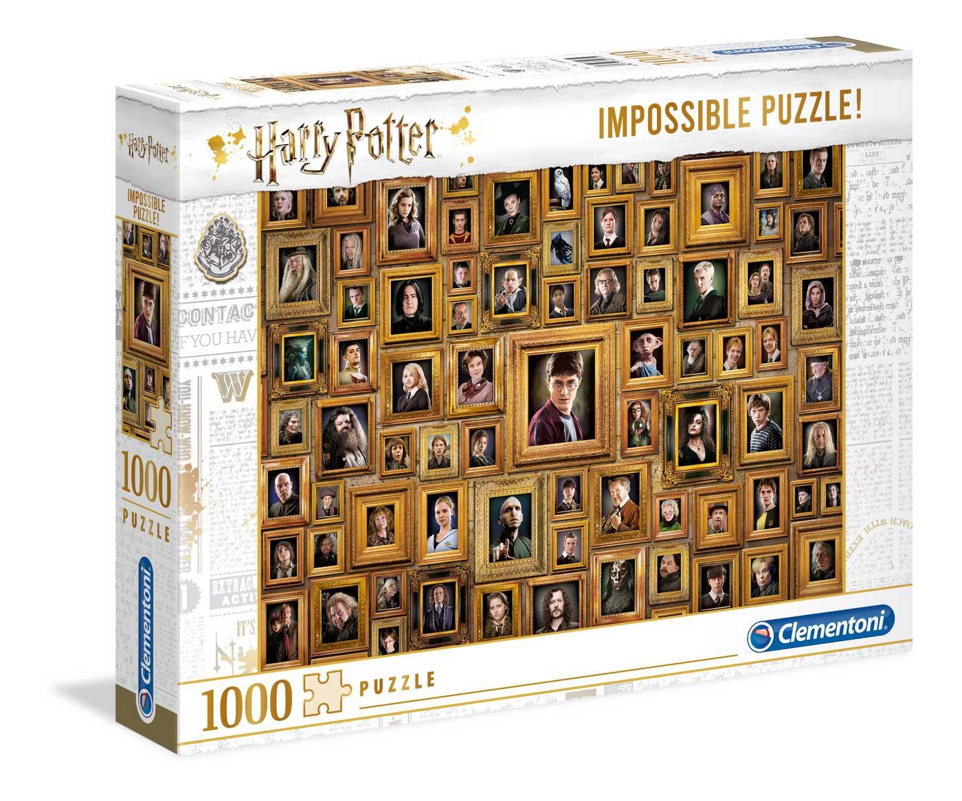 Puzzle Clementoni Imposible Harry Potter de 1000 Piezas