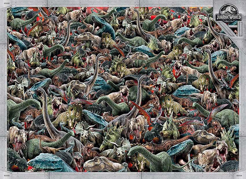 Puzzle Clementoni Imposible Jurassic World de 1000 Piezas