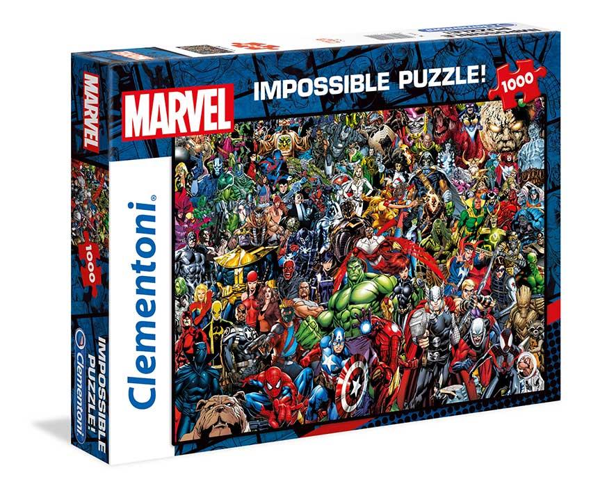 Puzzle Clementoni Imposible Los Vengadores de 1000 Piezas