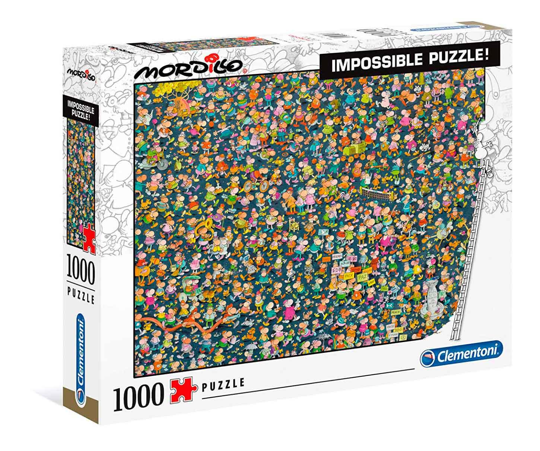 Puzzle Clementoni Imposible Mordillo de 1000 Piezas