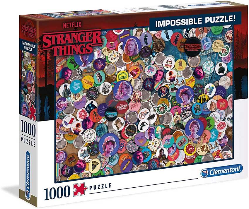 Puzzle Clementoni Imposible Stranger Things de 1000 Piezas