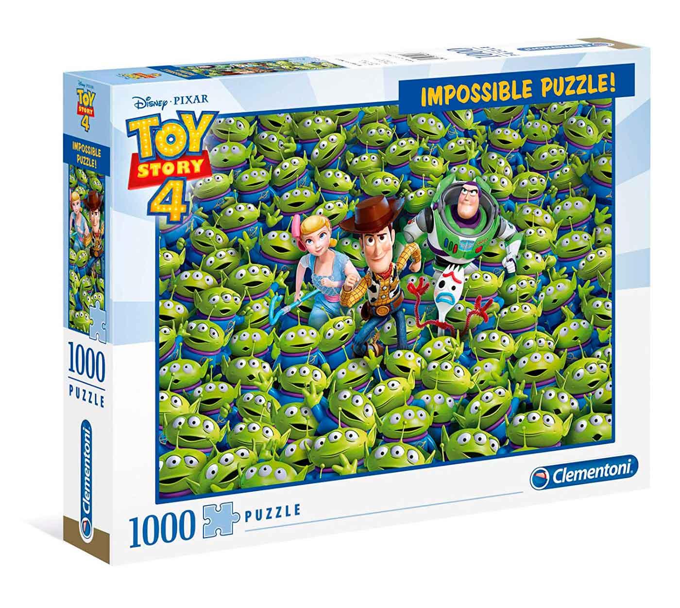 Puzzle Clementoni Imposible Toy Story 4 de 1000 Piezas