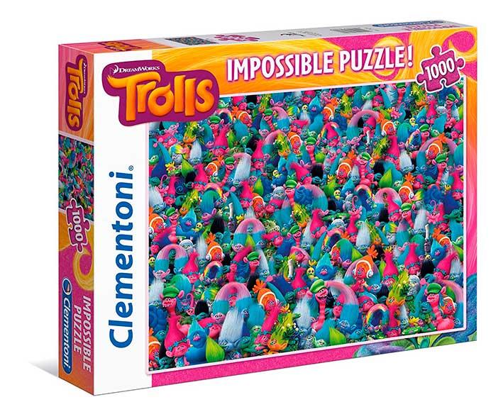 Puzzle Clementoni Imposible Trolls de 1000 Piezas