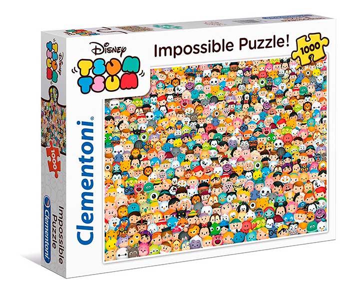Puzzle Clementoni Imposible Tsum Tsum de 1000 Piez