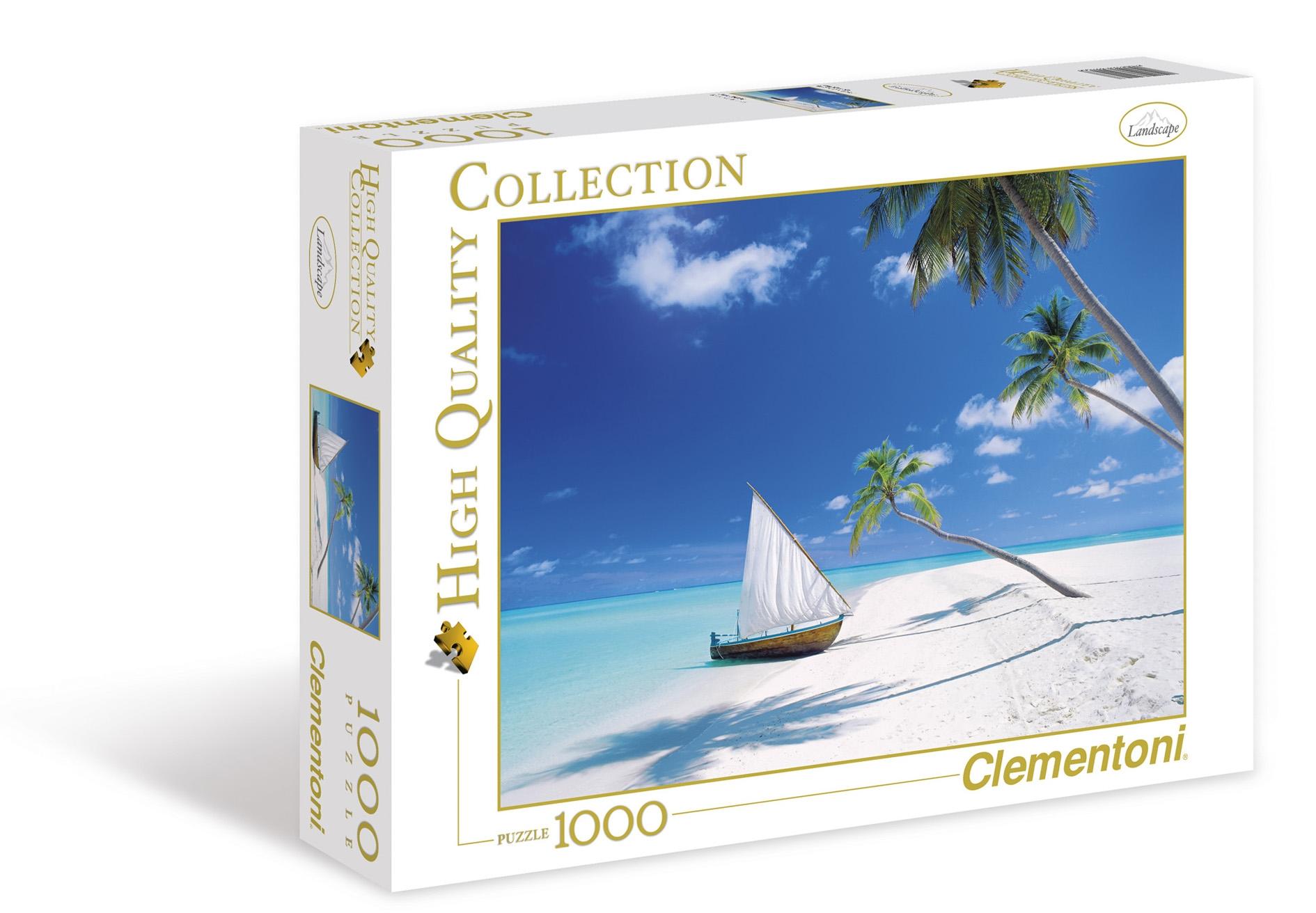Puzzle Clementoni Islas Maldivas de 1000 Piezas