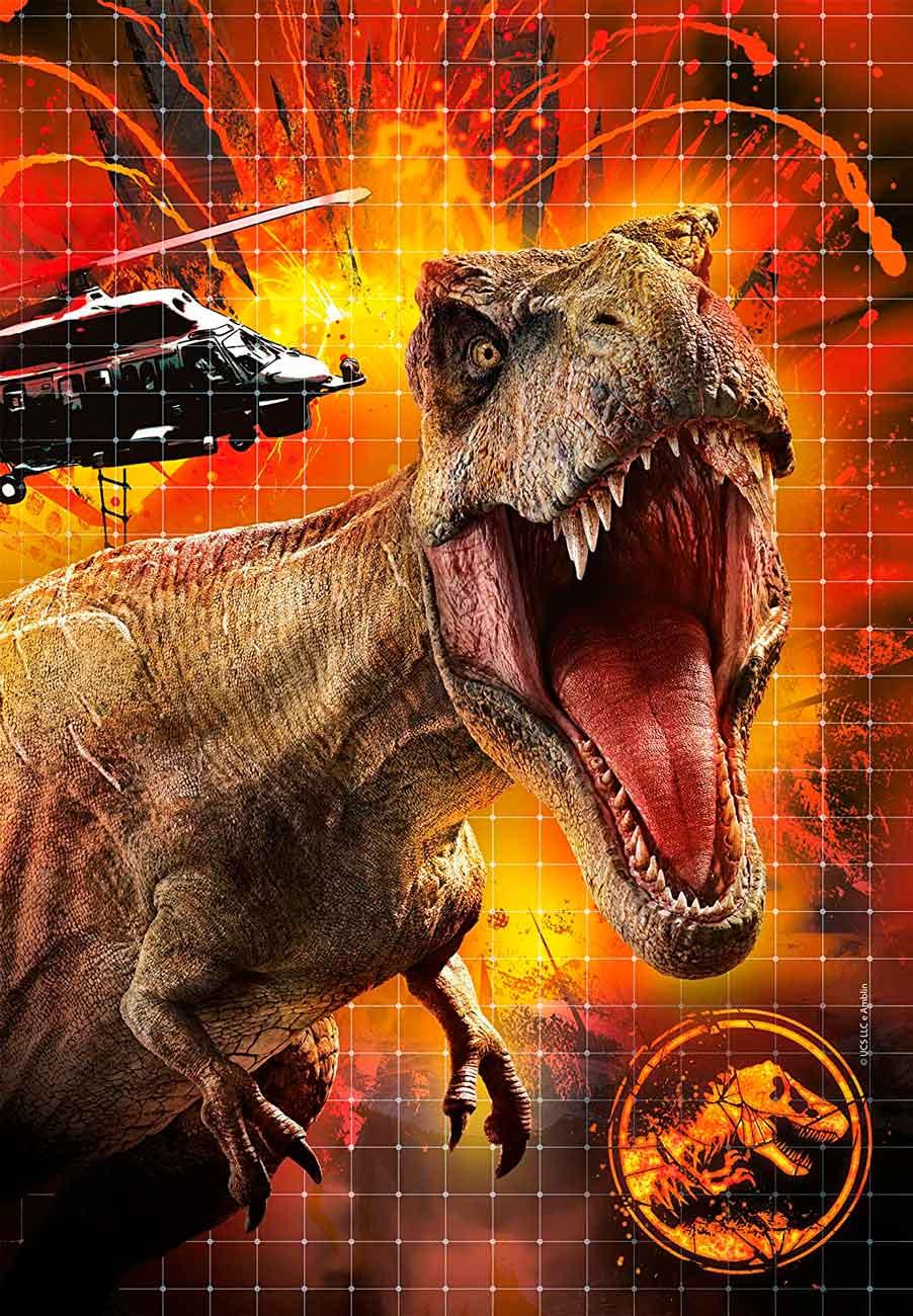 Puzzle Clementoni Jurassic World 3 x 48 Piezas