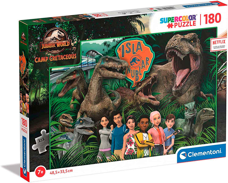 Puzzle Clementoni Jurassic World Campamento Cretácico de 180 Pzs