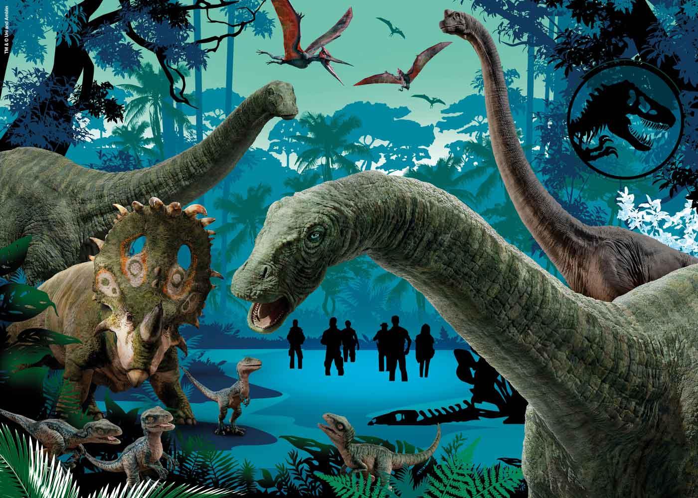 Puzzle Clementoni Jurassic World de 104 Piezas