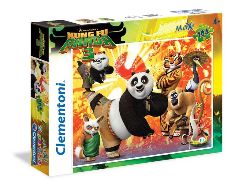 Puzzle Clementoni Kung Fu Panda 3 Maxi 104 Piezas