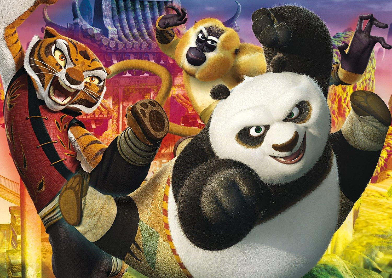 Puzzle Clementoni Kung Fu Panda Maxi 104 Piezas