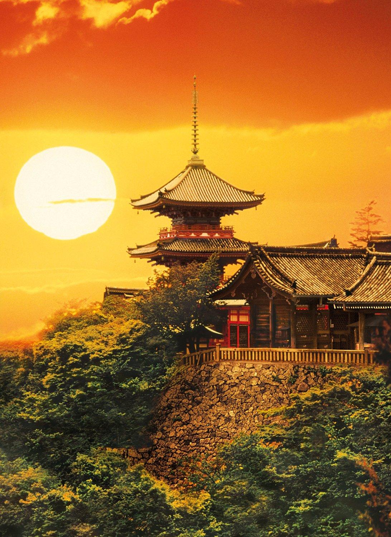 Puzzle Clementoni Kyoto, Japón de 1000 Piezas