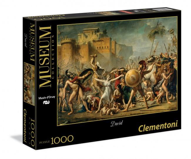 Puzzle Clementoni El Rapto de las Sabinas de 1000 Piezas