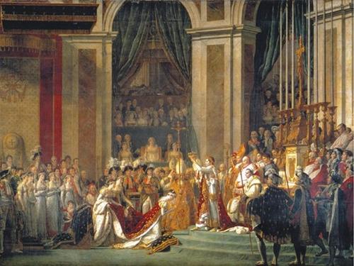 Puzzle Clementoni La Coronación de Napoleón y Josefina de 1000 P
