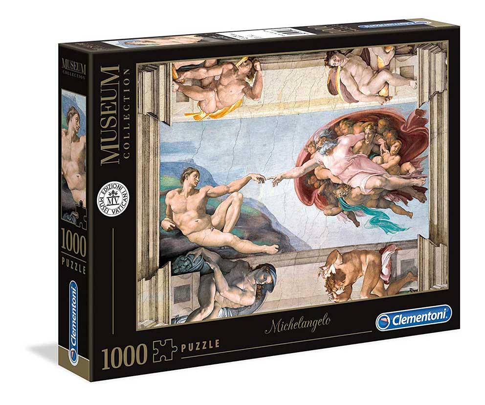Puzzle Clementoni La Creación del Hombre de 1000 Piezas