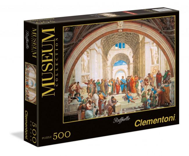 Puzzle Clementoni La Escuela de Atenas de 500 Piezas