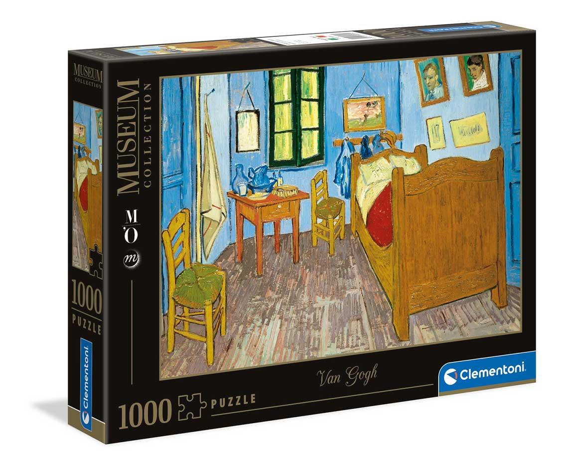 Puzzle Clementoni La Habitación de Arles de 1000 Piezas