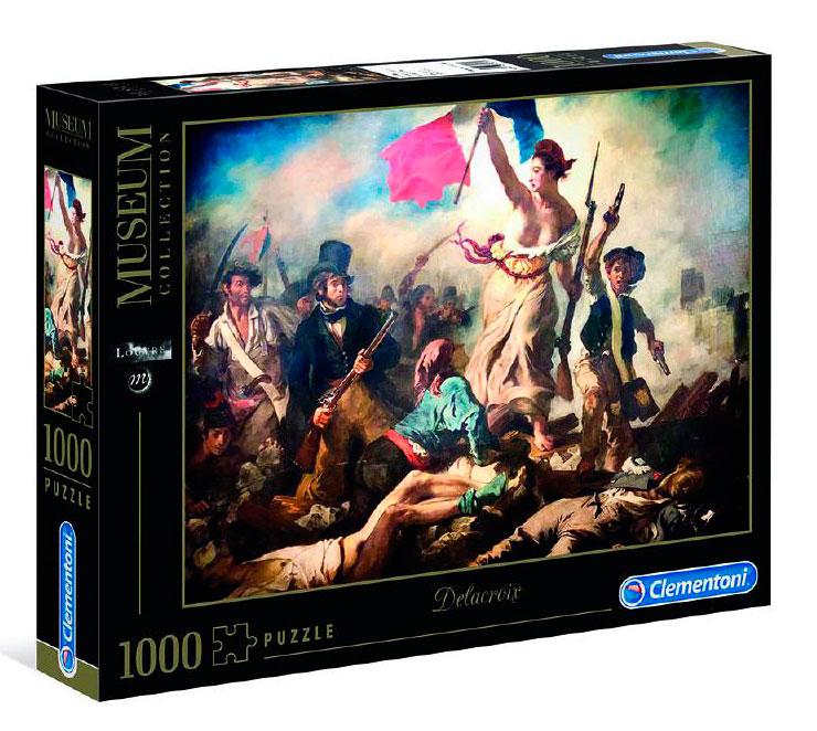 Puzzle Clementoni La Libertad Guiando al Pueblo de 1000 Piezas
