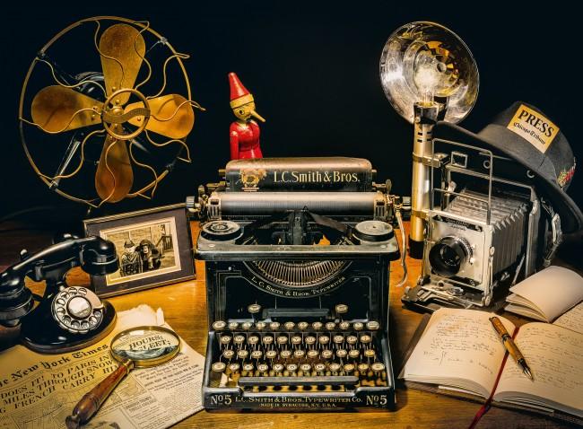 Puzzle Clementoni La Máquina de Escribir de 500 Piezas