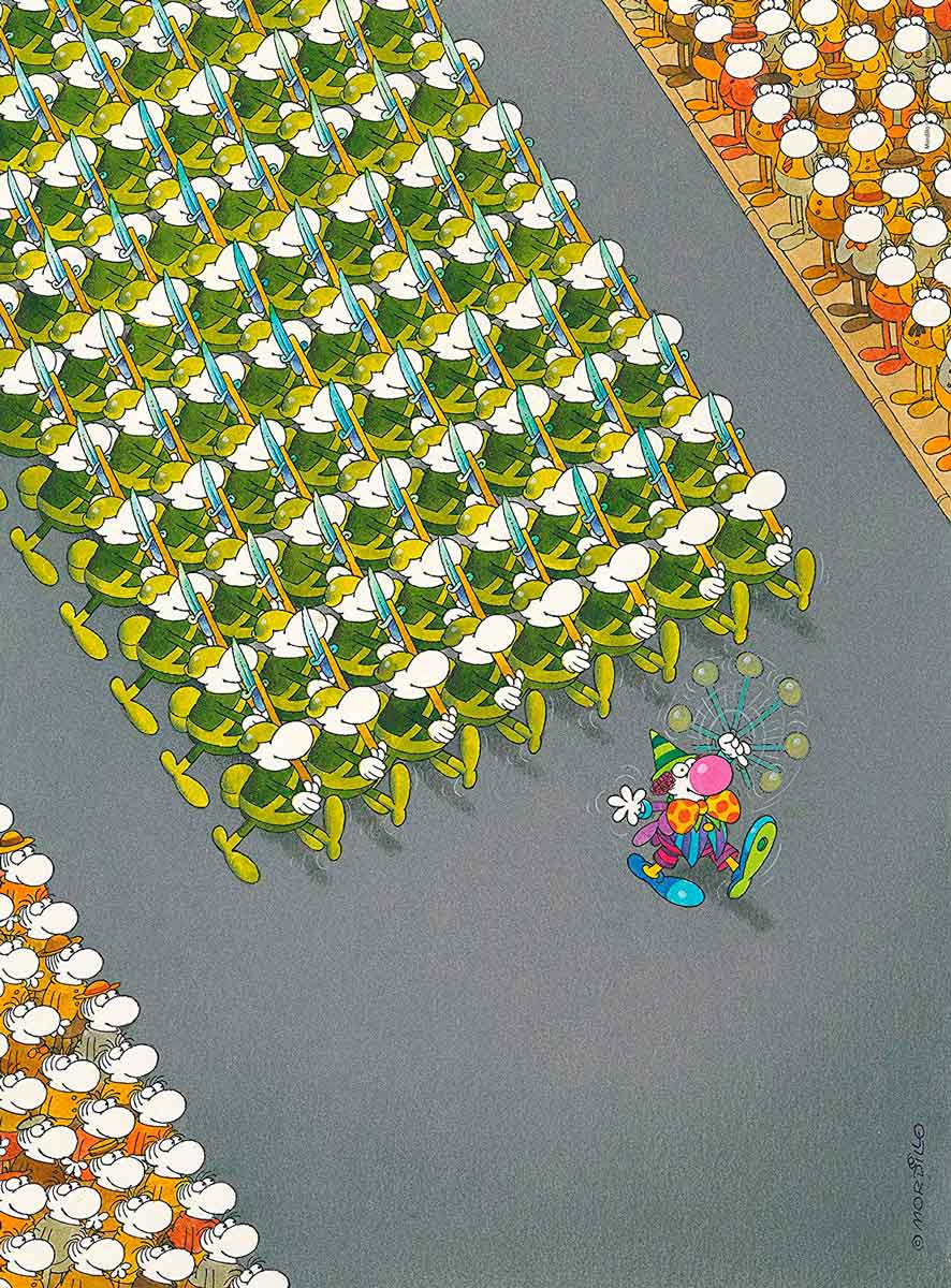 Puzzle Clementoni La Marcha de 500 Piezas