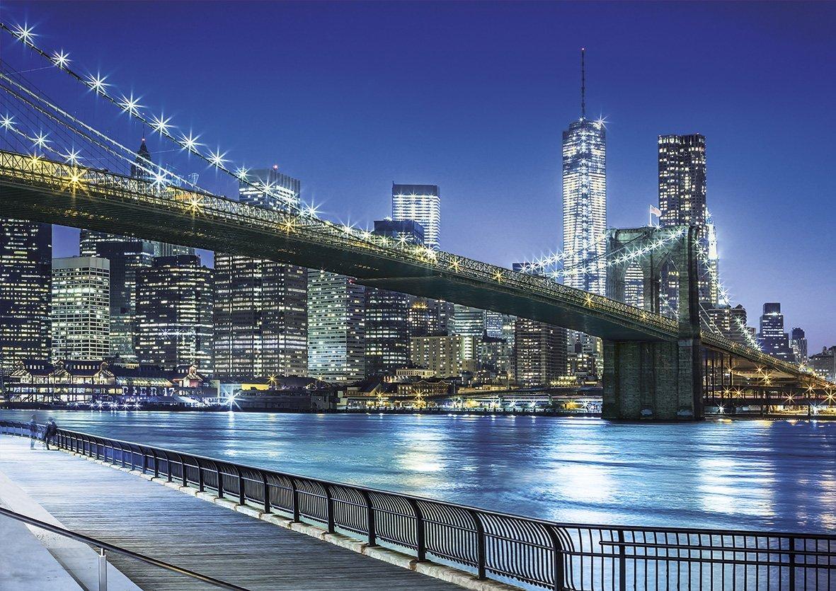 Puzzle Clementoni La Noche de Nueva York de 1500 Piezas