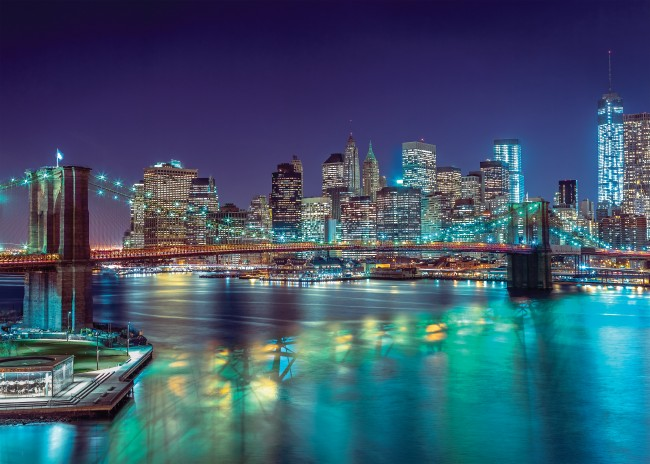Puzzle Clementoni La Noche de Nueva York de 3000 Piezas
