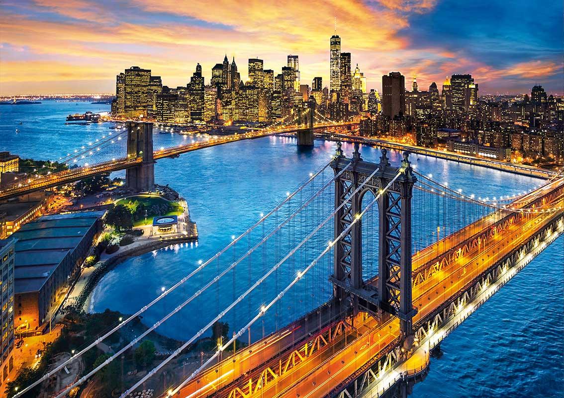 Puzzle Clementoni Nueva York de Noche de 3000 Piezas