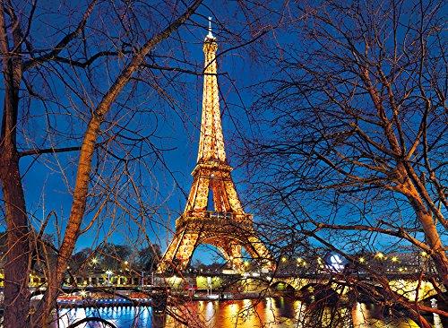Puzzle Clementoni La Noche de París de 2000 Piezas