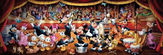Puzzle Clementoni La Orquesta Disney de 1000 Piezas