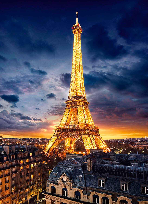 Puzzle Clementoni La Torre Eiffel de Noche de 1000 Piezas