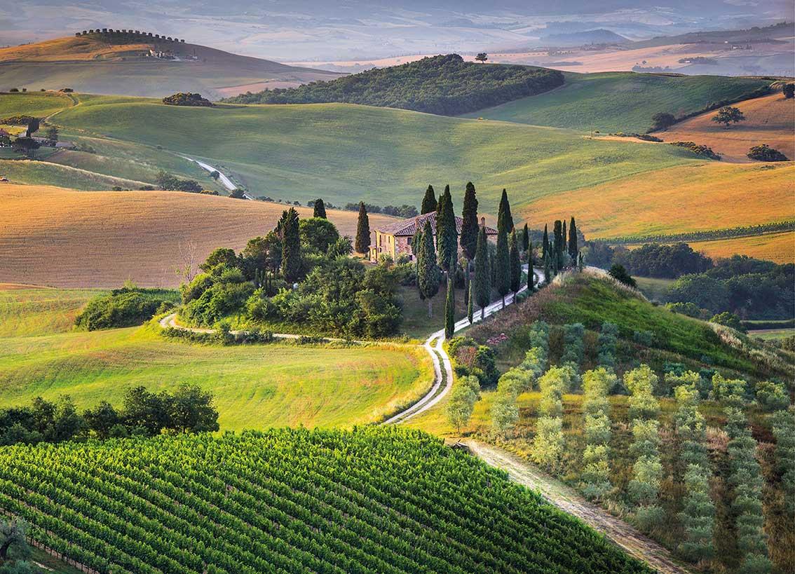 Puzzle Clementoni La Toscana de 1000 Piezas