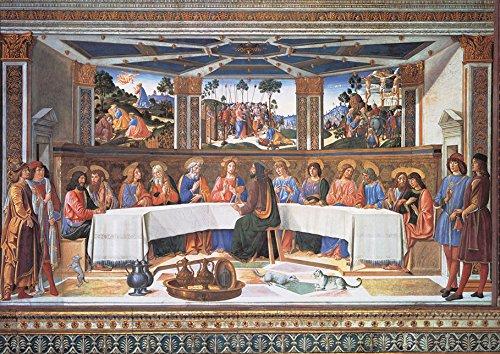 Puzzle Clementoni La Ultima Cena, Roselli de 1000 Piezas