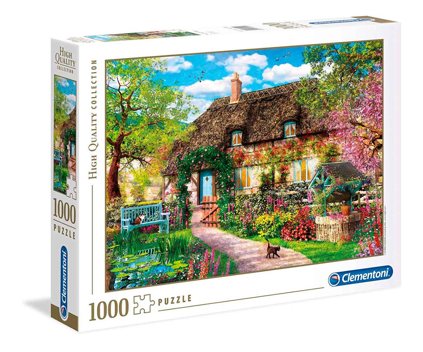 Puzzle Clementoni La Vieja Cabaña de 1000 Piezas