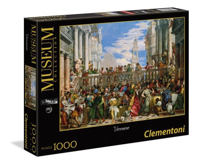 Puzzle Clementoni Las Bodas de Cana de 1000 Piezas