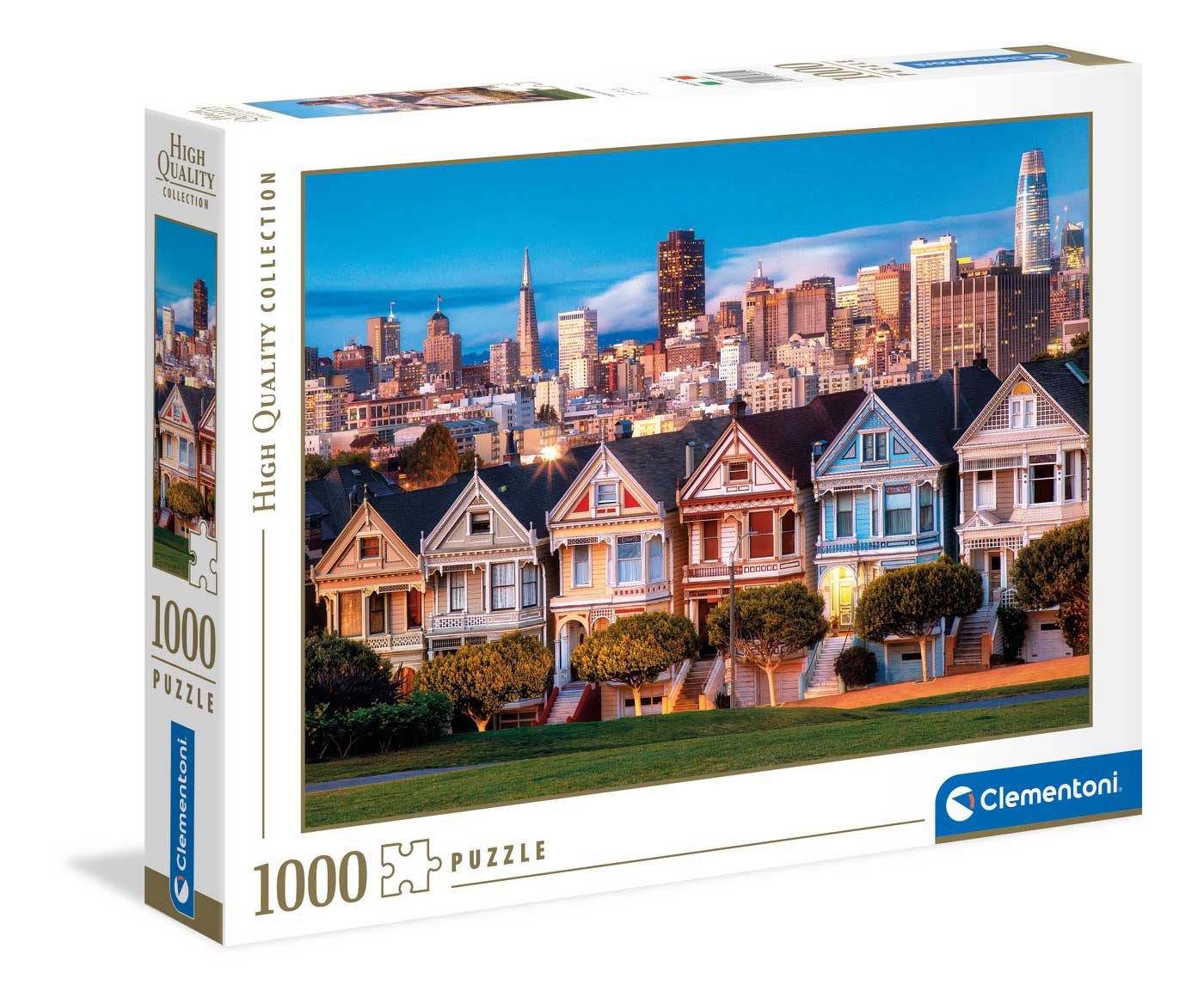 Puzzle Clementoni Las Damas Pintadas de 1000 Piezas