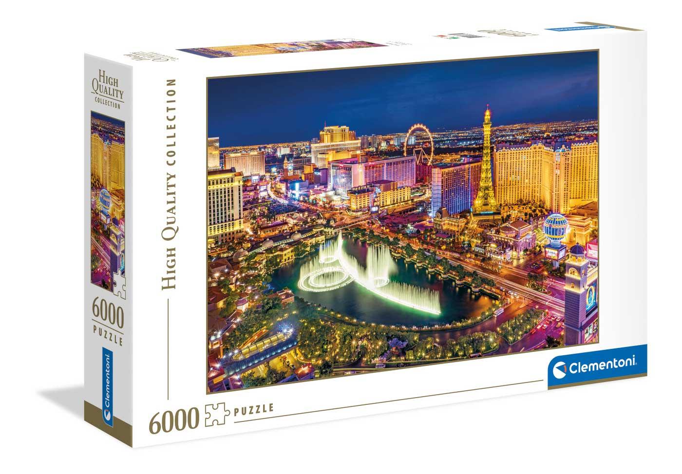 Puzzle Clementoni Las Vegas 6000 Piezas