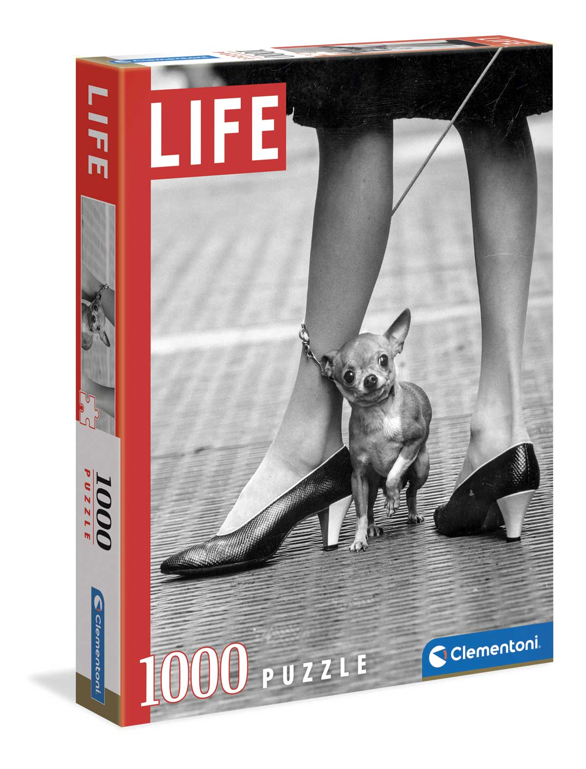 Puzzle Clementoni Life Chihuahua de 1000 Piezas