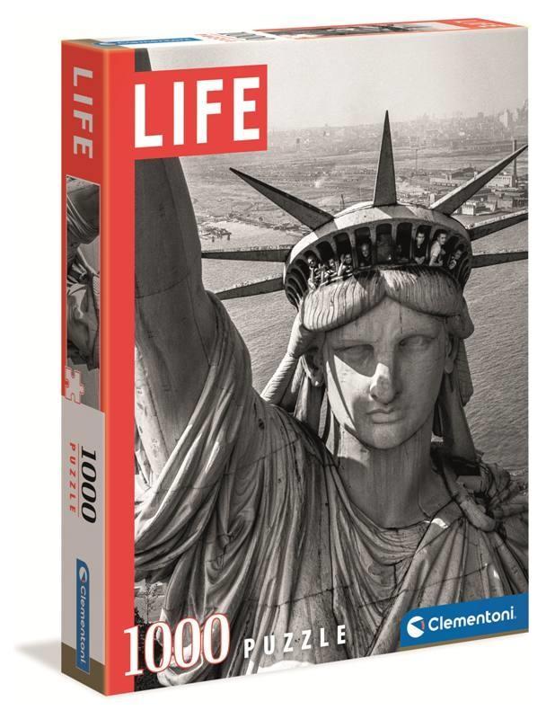 Puzzle Clementoni Life Estatua de la Libertad de 1000 Piezas