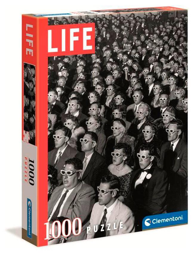 Puzzle Clementoni Life Gafas 3D de 1000 Piezas