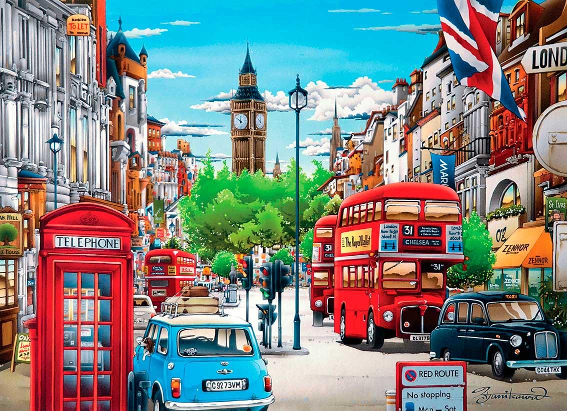 Puzzle Clementoni Londres de 1000 Piezas