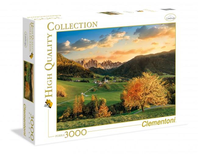 Puzzle Clementoni Los Alpes de 3000 Piezas