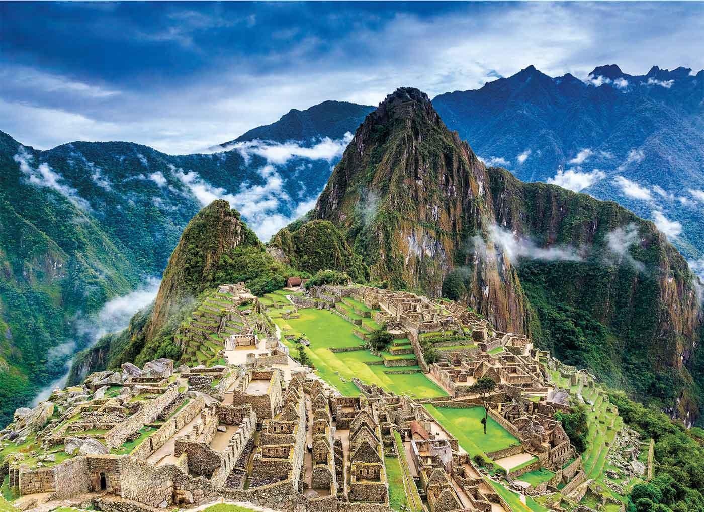 Puzzle Clementoni Machu Picchu de 1000 Piezas