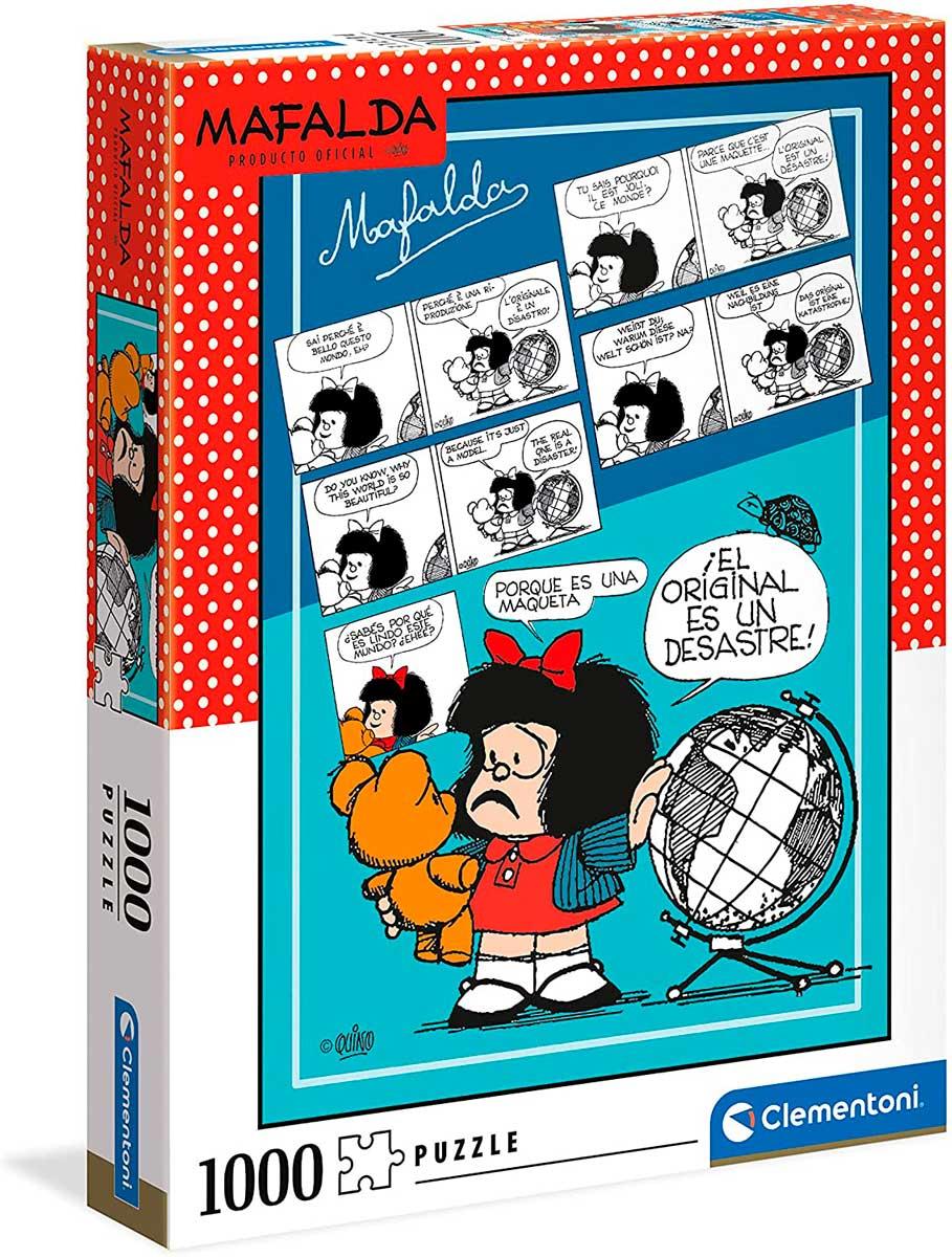 Puzzle Clementoni Mafalda de 1000 Piezas