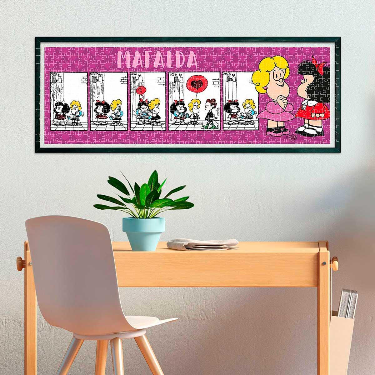 Puzzle Clementoni Mafalda Panorámico de 1000 Piezas