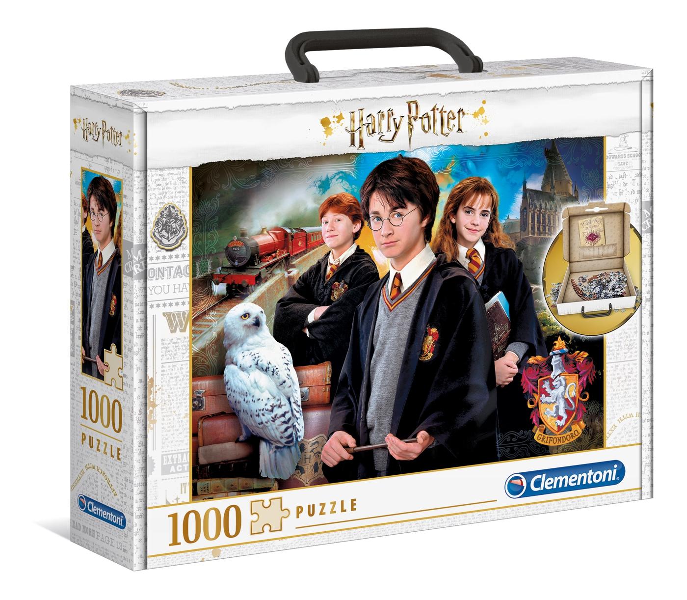 Puzzle Clementoni Harry Potter Maletín de 1000 Piezas